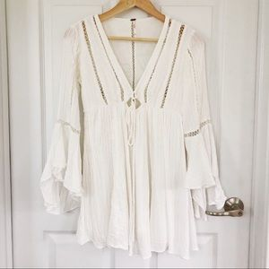 Free People White Dress